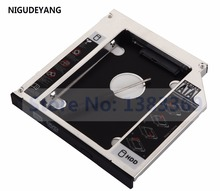 NIGUDEYANG 2-й жесткий диск HDD SSD Optical Bay Caddy для Toshiba Satellite L800 L850 L850D