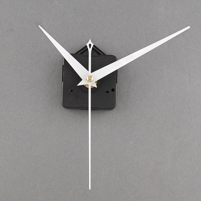 Clock Movement Useful DIY Tool Replacement with White Hands Economic Drop Shipping