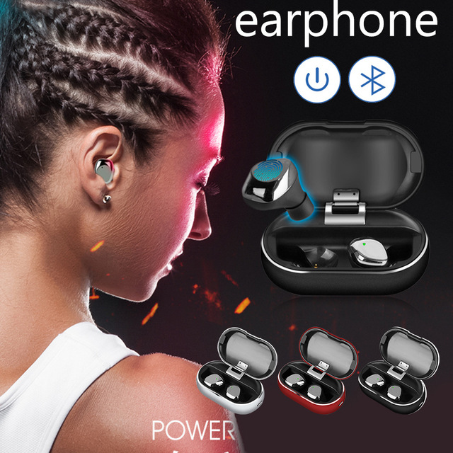 X26 TWS Bluetooth 5.0 True Wireless Earbuds Smart Waterproof Stereo Hifi Earphone With Charging Case for Iphone Nokia Samsung