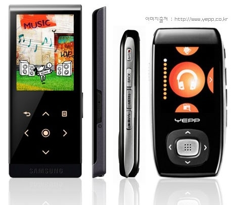 SAMSUNG YP-T10 4GB MP4 BLACK TOUCH CONTROLS BLUETOOTH