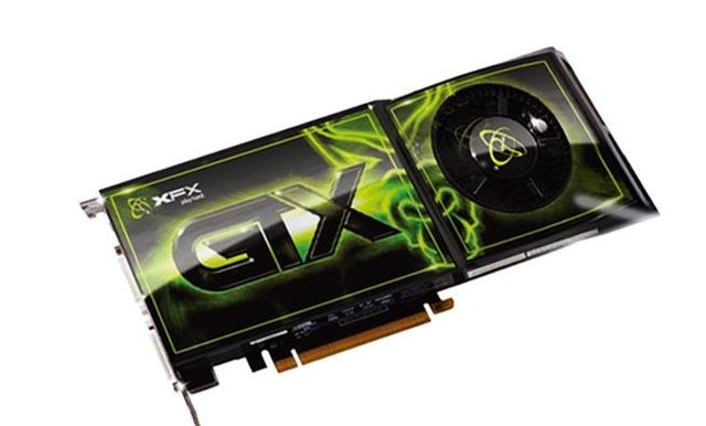Hot Selling Graphic Cards NVIDIA GeForce XFX GTX275  240SP 896MB  DDR3 448bit