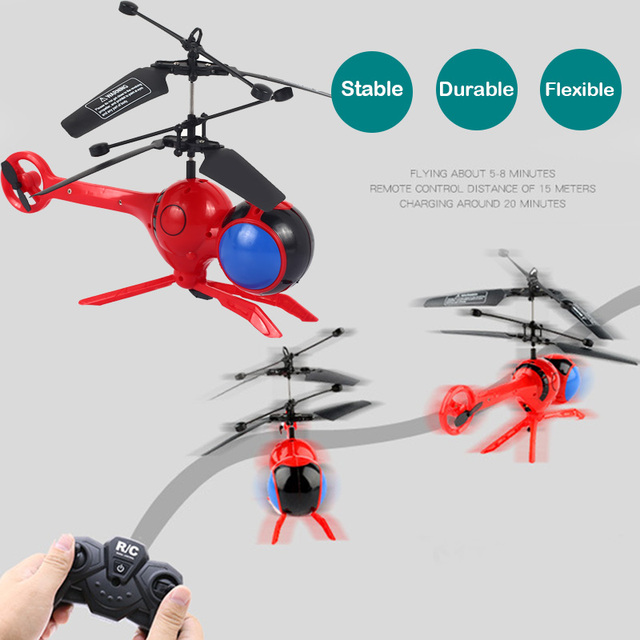 Mini RC helicopter Dragonfly RC Toys Remote Control 3 Channels Drone Portable Models Interesting Relief Stress RC Aircraf