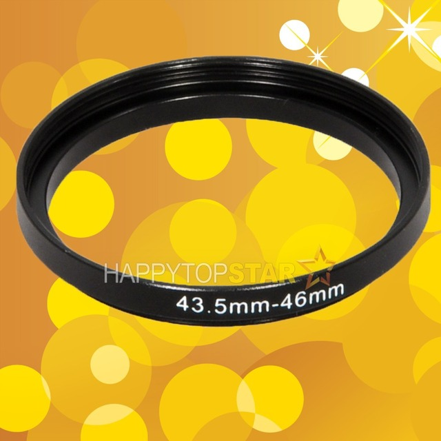 43.5mm to 46mm 43.5-46mm Male-Famale Step-Up Lens Filter Hood Cover Ring Adapter Adaptor