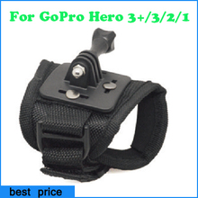 Outdoor Bicycle Glove-style Mount Action Camera Strap For GoPro Hero1/2 3 Vented Helmet Strap Mount for Go Pro Accessories