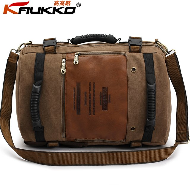 Hotsale mens canvas travel bags ,wholesale camping backpacks ,outdoor bags  FH09 multifuctional