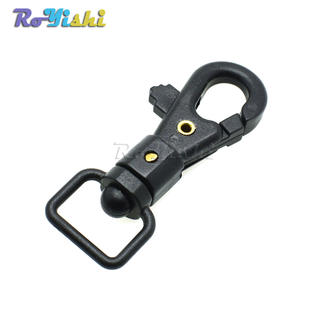 """1000pcs/pack 1/2"""" Webbing Plastic Swivel Snap Hooks for Backpack Straps Keychain Accessories"""
