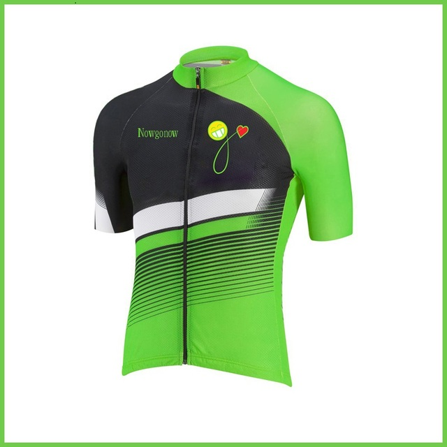 NEW Hot Customized 2016 JIASHUO Green pro / road RACING Team Bicycle Bike Pro Cycling Jersey / Wear / Clothing / Breathable