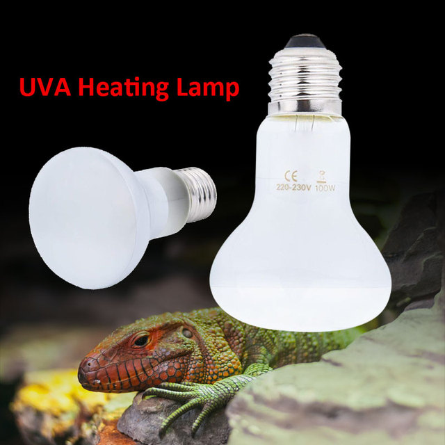 Sun Lamp Heating Lamp Durable 110V White Turtle Brooder Reptile Heat Lamp Reptile