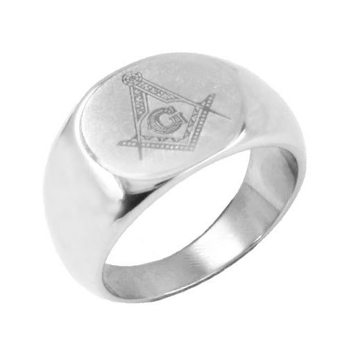 Free Shipping! Fashion Masonic Biker Ring Stainless Steel Jewelry Freemasonry Masonic Men Women Ring Wholesale SJR0022
