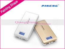 Best Quality 100% Original Pineng Power Bank 15000mAh PN-929 Portable Charger External Battery For iphone LG Sony Phones