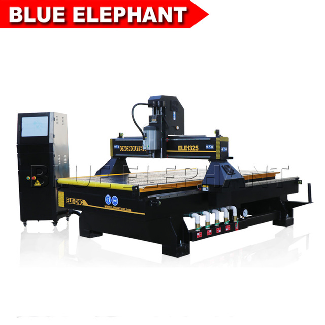 CNC Router 1325 3 axis 3KW HSD Air Cooling Spindle CNC Engraving Cutting Router Machine