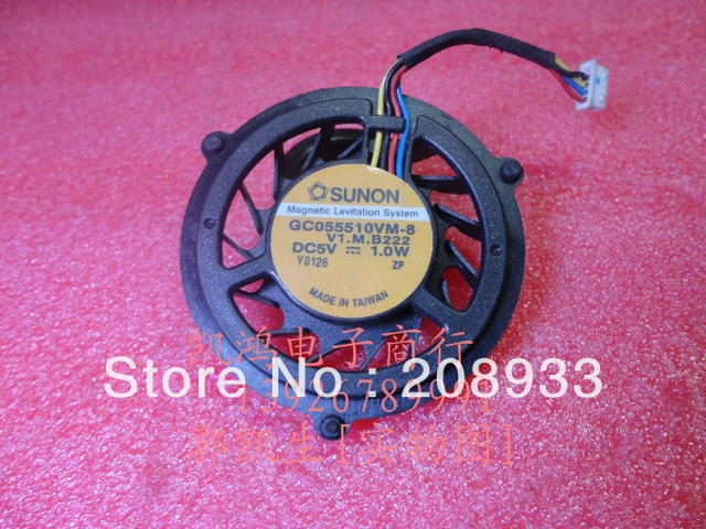 For SUNON FOR ASUS a8 f9 averatec 5100 GC055510VM-8 laptop fan+cooling fan