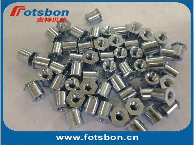 SOS-3.5M3-6 , Thru-hole Threaded Standoffs,stainless steel,nature,PEM standard, made in china,in stock,