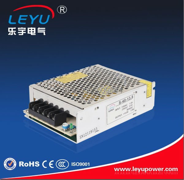 Factory price power supply CE RoHS Certificate 40w switching power supply 5v ac dc power supply