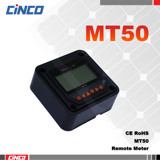MT-50,Remote Meter For MPPT solar charge controller TracerBN Tracer 1210A 2210A 3210A 4210A 1215BN 2215BN 3215BN 4215BN