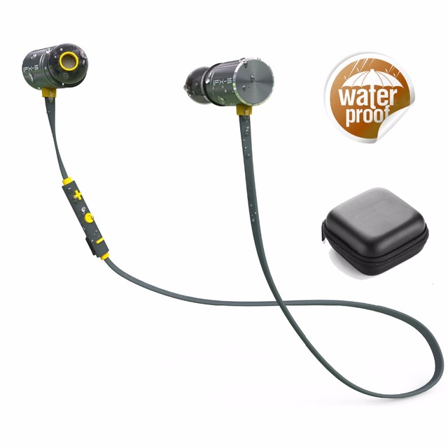 PLEXTONE BX343 Dual Battery Bluetooth Wireless   IPX5 Waterproof  Magnetic In Ear With Microphone For Sport