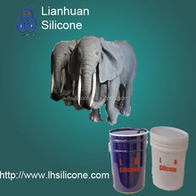 figure moulding liquid rtv-2 LHSIL 2025 silicone rubber for making statue mold