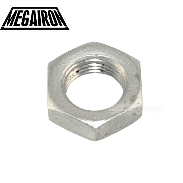 """MEGAIRON BSPT 1/2"""" DN15 Lock Nut O-Ring Groove Stainless Steel SS304 Hexagon Locking Nut Brand New"""