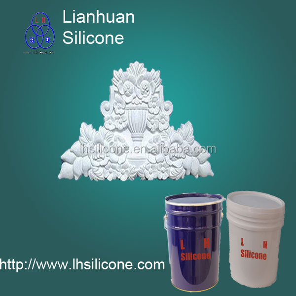 liquid silicone rubber for gypsum and GRC facade oraments molds