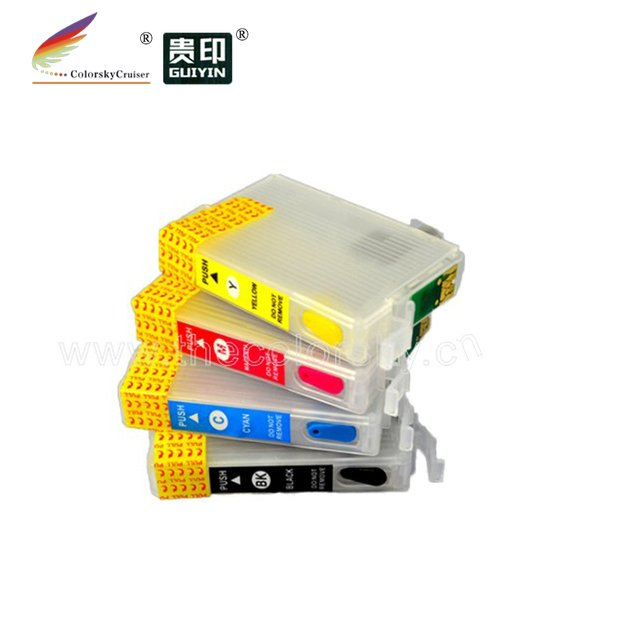 (RCE-1171-1054) refillable refill ink cartridge for Epson T1171 T1052 T1053 T1054 117 105 T23 TX105 TX115 T24