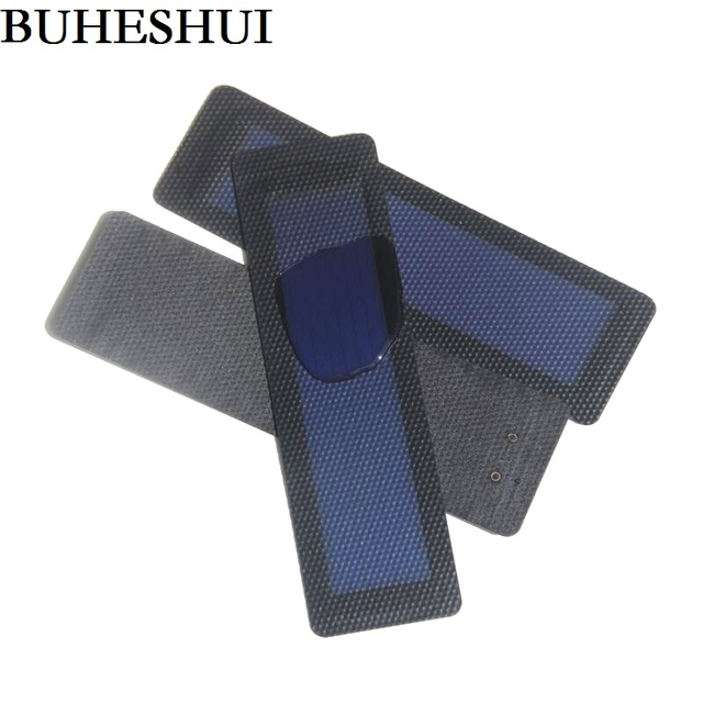BUHESHUI 0.5W Flexible Solar Cells Amorphous Silicon Foldable Very Slim Solar Panel DIY Phone Charger 3pcs/lot  Free Shipping