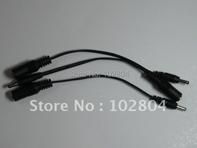 DC Power Jack 5.5x2.1mm Female to 3.5x1.35mm Male Plug Cable 18cm 0.18m 4 Pcs Per Lot High Quality HOT Sale