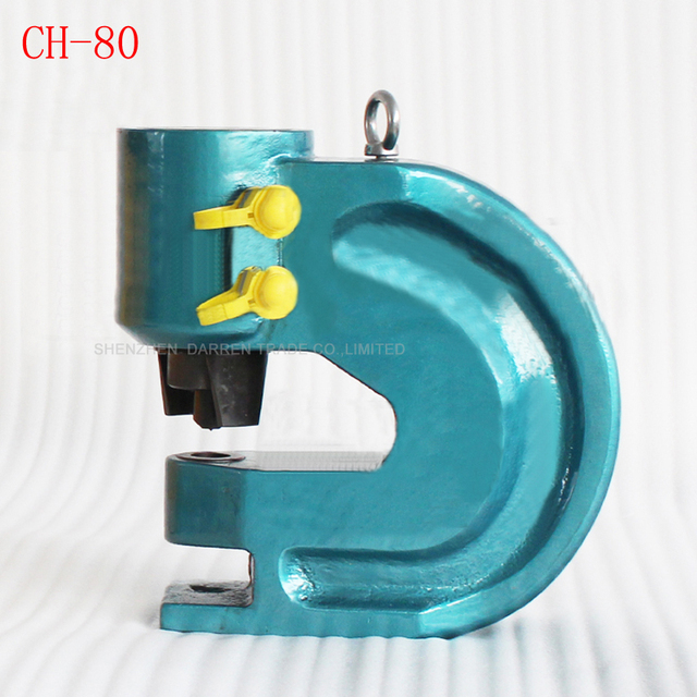 1pc CH-80 Hight quality Hydraulic punch tool Hydraulic punching machine copper and aluminum row punching tools