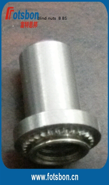 BS-832-2  Blind press-in Nut, PEM standard self-clinching  nuts , SUS 303, in stock.