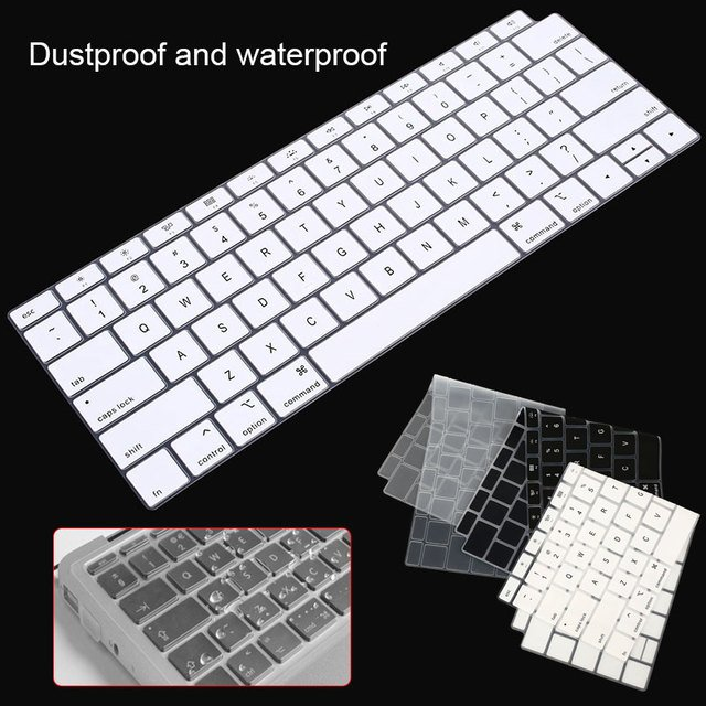 New Silicone Keyboard Protector For Macbook Air 13 A1932 US Layout Keyboard Cover Waterproof Keyboard Film