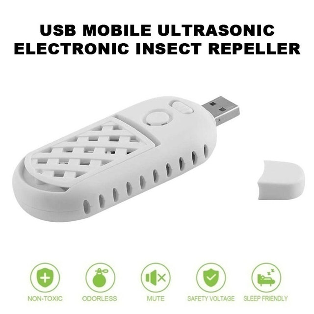 USB Mosquito Dispeller Office Car Rats Multi-Functional Fly Anti-Mosquito Device Cockroach Mouse Expeller Electronic