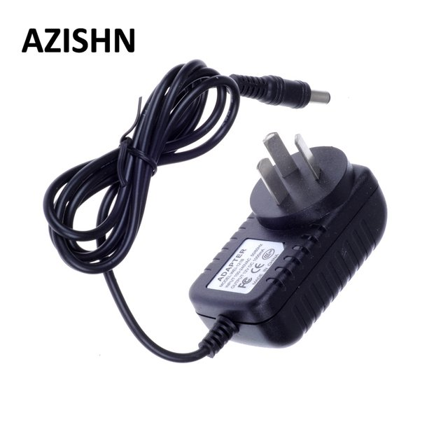 AZISHN AC 100-240V DC 12V 1A AU Plug AC/DC Power adapter charger Power Adapter for security CCTV Camera (2.1mm * 5.5mm)