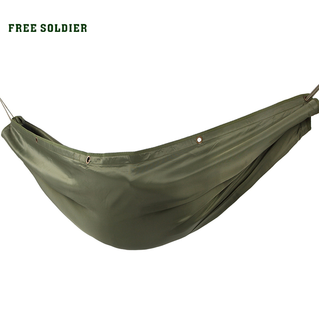 FREE SOLDIER Outdoor Sports Camping Hiking Multiple Mats Picnic Tent Carpet Hammock Swing Sleeping Bag Double Hammock