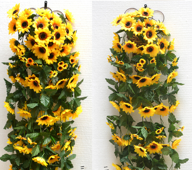new year party decoration wedding decoration sunflower artificial flowers decorations home decor