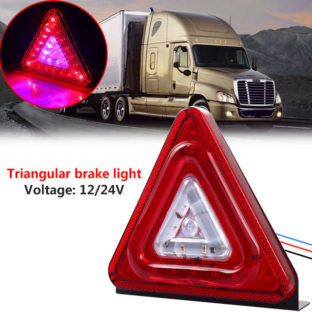 Vehemo LED Indicator Light Blasting Flash Signal Lamp Vehicle Brake Lights for Replacement Trailer Bulb for Super Bright