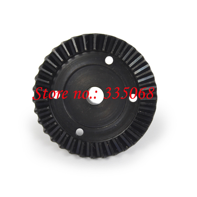 HENGLONG 3851-2 RC EP car Mad Truck 1/10 запчасти No.18 Steel drive bevel gear-Upgrate OP Запчасти для дифференциала
