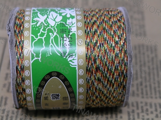 FREE SHIPPING  135Yd Size 1.0mm Rainbow/Neon Chinese Beading/Knot Nylon Cord/Thread