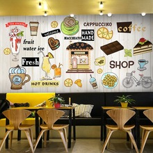 European And American Style Burger Italian Pizza Western Fast Food Restaurant Background Wallpaper Mural Snack Bar Wall Paper 3d Buy Cheap In An Online Store With Delivery Price Comparison Specifications Photos