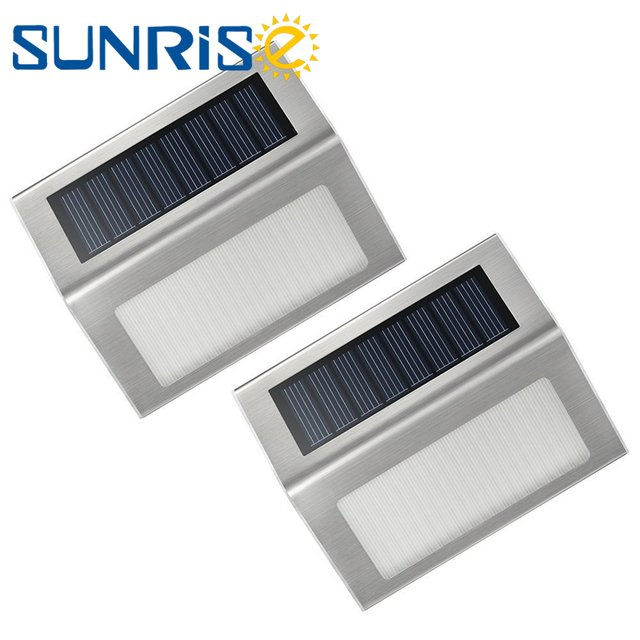 LED Solar Lamp 3 LEDs Saving Energy Power Waterproof House Pathway Street Stairs Yard Path Garden Outdoor Security