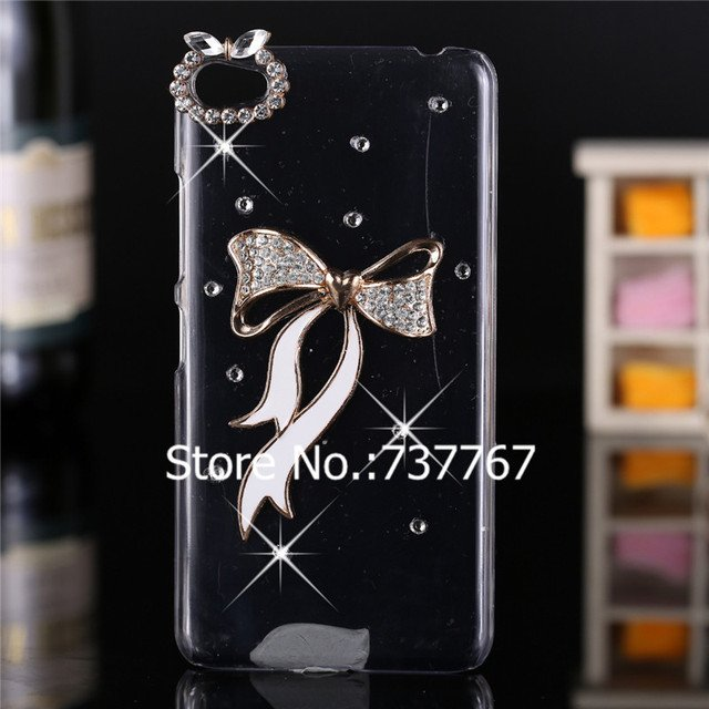 Luxury 3d case For Lenovo S60 ,Crystal Bling Case Rhinestone Cover For Lenovo S60 Case