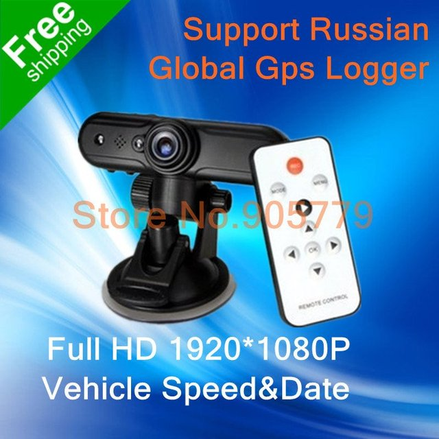 Car DVR , Car Black Box V1000/V1000GS with GPS logger + Full HD 1080P + Wide Angle 120 Degrees + Laser LED Light +Free Shipping