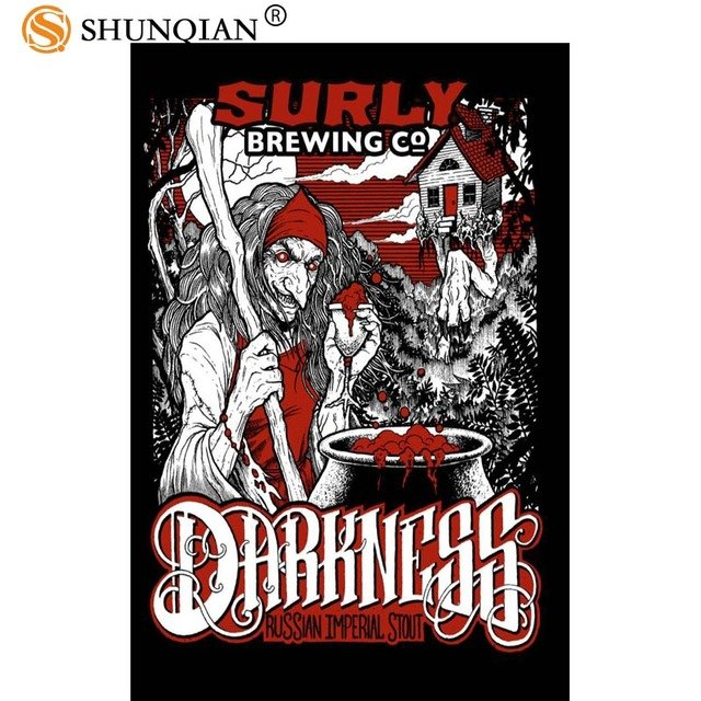 New Arrival surly brewing darkness poster Cartoon Silk Poster custom posters for kids more size 27x40 30x45 40x60 50x75 60x90
