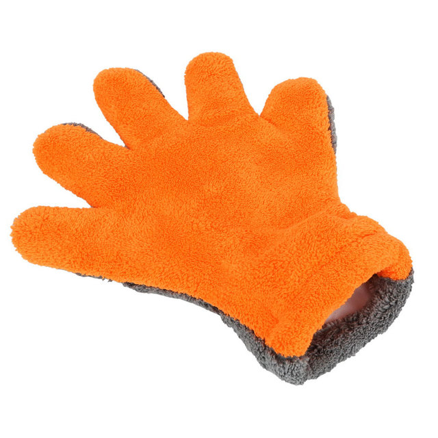 Vehemo Cars Washing Glove Cleaning Car Washing Glove Thick Auto Cleaning Glove for Household Cleaning Home Waxing