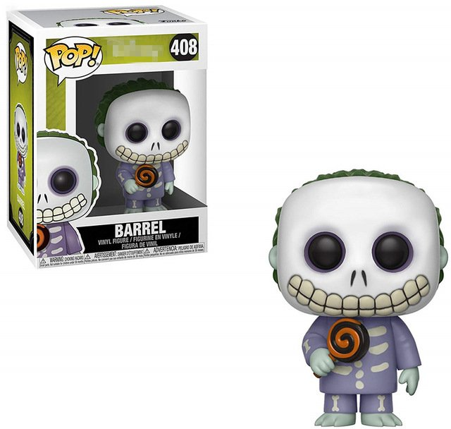 Funko pop Official The Nightmare Before Christmas - Barrel Vinyl Action Figure Collectible Model Toy with Original Box