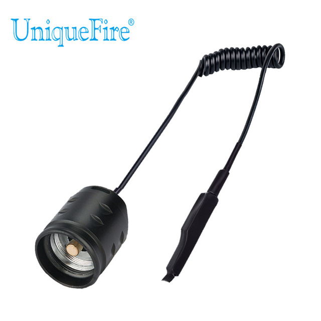 UniqueFire T20 Dual Control Remote Pressure Switch / Rat Tail Fit For UF-T20 LED Flashlight Only Free Shipping