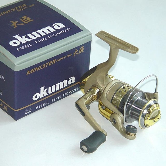 New free shipping, Free shipping, OKUMA MINISTER Series MNT-30 Spinning Fishing Reel 4+1BB