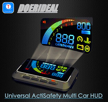Wholesale - Ifound Universal ActiSafety Multi Car HUD Vehicle-mounted Head Up Display System OBD II OBDII K879