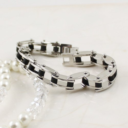 High Qualty S.S316L Stainless Steel Bracelet Stainless Steel jewelry Free Shipping BJ1377