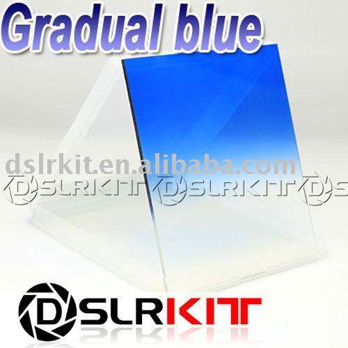 Gradual blue Filter for Cokin P series Color Conversion