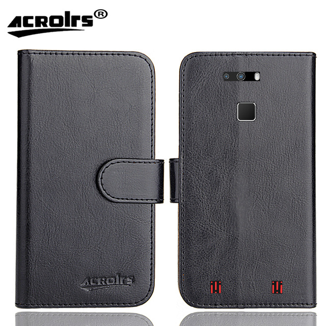 Cubot Quest Case 6 Colors Dedicated Leather Exclusive Special Crazy Horse Phone Cover Cases Credit Wallet+Tracking