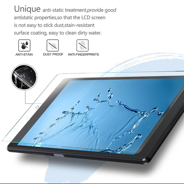 """Durable Tablet Tempered Glass Anti-Glare 7"""" Tablet Screen Protector Anti-Dirt Tablet Film Anti-Shatter for Huawei MediaPad"""